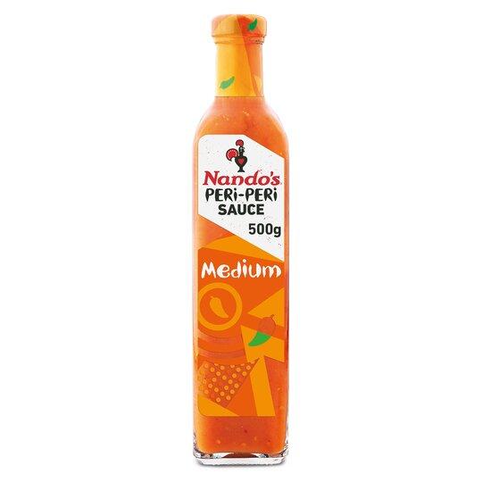 Nando's Peri Peri Sauce 125G (Medium / Garlic / Extra Extra Hot) - £1 (Clubcard Price) @ Tesco