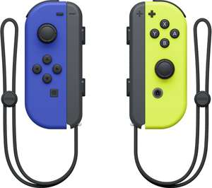 Buy Dark Blue And Yellow Joy Cons Plus A Google Nest Mini (2ND Gen) For £67.99 With Code at Currys PC World