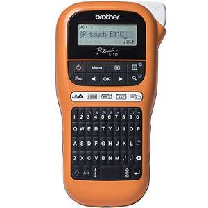 Brother PT-E110 Label Maker, P-Touch Electrician Label Printer, £18.71 (+£4.49 non prime) - Mainland UK Delivery sold by Amazon EU at Amazon