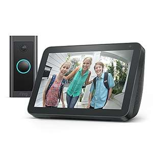 Amazon Echo Show 8 (1st Gen. ) + Ring Video Doorbell Wired by Amazon, Charcoal/Sandstone Fabric £69.99 delivered (Prime Exclusive) @ Amazon