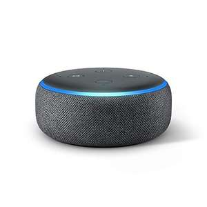 Echo Dot (3rd Gen) - Alexa Smart speaker- All Colours £19.99 / With TP-Link Tapo P100 Smart Plug £24.99 Delivered (Prime Exclusive) @ Amazon