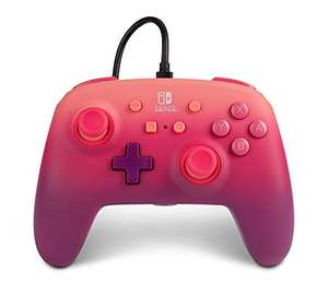 PowerA Enhanced Wired Controller for Nintendo Switch - Fuchsia Fantasy, pink, red, purple £12.99 (Prime Exclusive) at Amazon