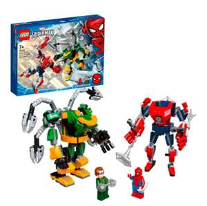 LEGO 76198 Spider-Man & Doctor Octopus Mech Battle £14 at Tesco (with Clubcard Price)
