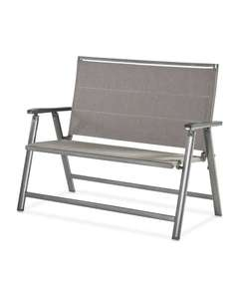 Grey & Beige Aluminium Garden Bench £59.99 + £9.95 delivery @ Aldi