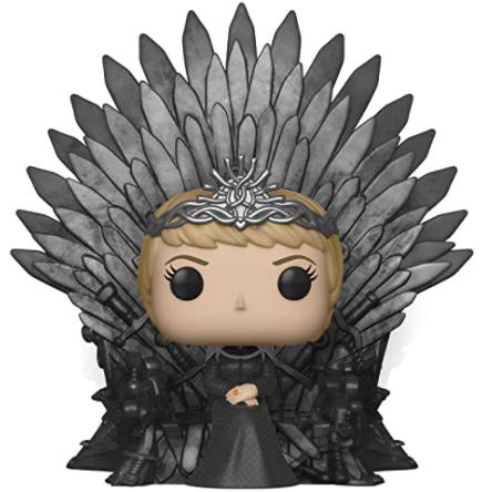 Funko Pop Deluxe 37796 - Evil Queen Cersi sat upon her Iron Throne - £13.32 Prime / £17.81 non prime @ Amazon