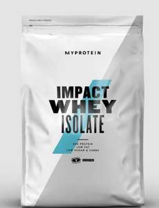 Impact Whey Isolate - 5KG Any flavour £45.27 @ Myprotein