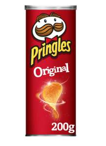 Pringles 200g all flavours - 90p at Co-Op (Members) Newcastle under Lyme - (81p NUS)