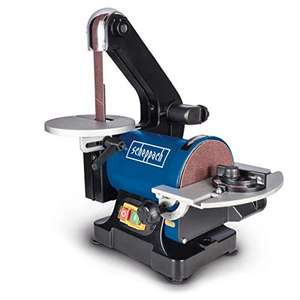 Scheppach 490 3304 901 Belt and Disc Sander £66.17 Dispatched from and sold by Amazon EU - UK Mainland