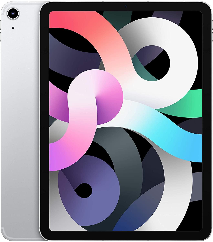 2020 Apple iPad Air (10.9-inch, Wi-Fi + Cellular, 256GB) - Silver (4th Generation) £679.97 @ Amazon