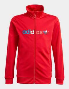 Kids / Youth Adicolour Track Top - Scarlett or Navy £15.84 delivered, using code @ adidas