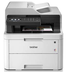 Brother MFC-L3710CW Colour Laser Printer - All-in-One, Wireless/USB 2.0, £274 Dispatched from and sold by Printerland Amazon