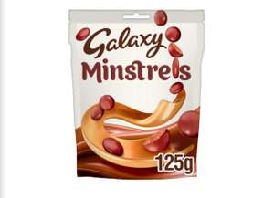 Galaxy Minstrels Chocolate Pouch Bag 125g £1.25 at Iceland
