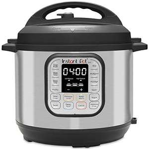 Instant Pot Duo 7-in-1 Electric Pressure Cooker, 6 Qt, 5.7 Litre, 1000 W, Brushed Stainless Steel/Black - £49.99 Amazon Prime Exclusive