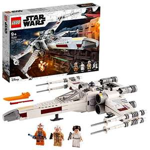 LEGO 75301 Star Wars Luke Skywalker's X-Wing Fighter Toy + Princess Leia Minifigure and R2-D2 Droid Figure (Prime Members) Amazon