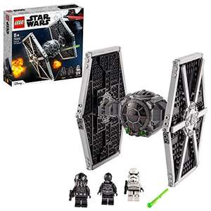 LEGO 75300 Star Wars Imperial TIE Fighter Toy with Stormtrooper and Pilot Minifigures £22.99 (Prime Members) @ Amazon