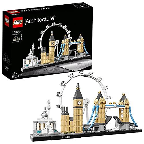 LEGO 21034 Architecture Skyline Model Building Set, London Eye, Big Ben, Tower Bridge Collection - £26.99 delivered @ Amazon (Prime)