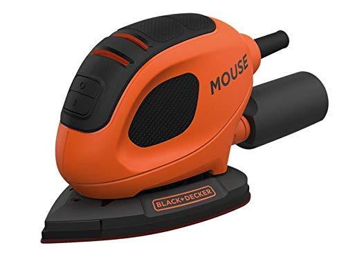 BLACK+DECKER 55 W Detail Mouse Electric Sander with 6 Sanding Sheets, BEW230-GB - £13.99 @ Amazon Prime Exclusive