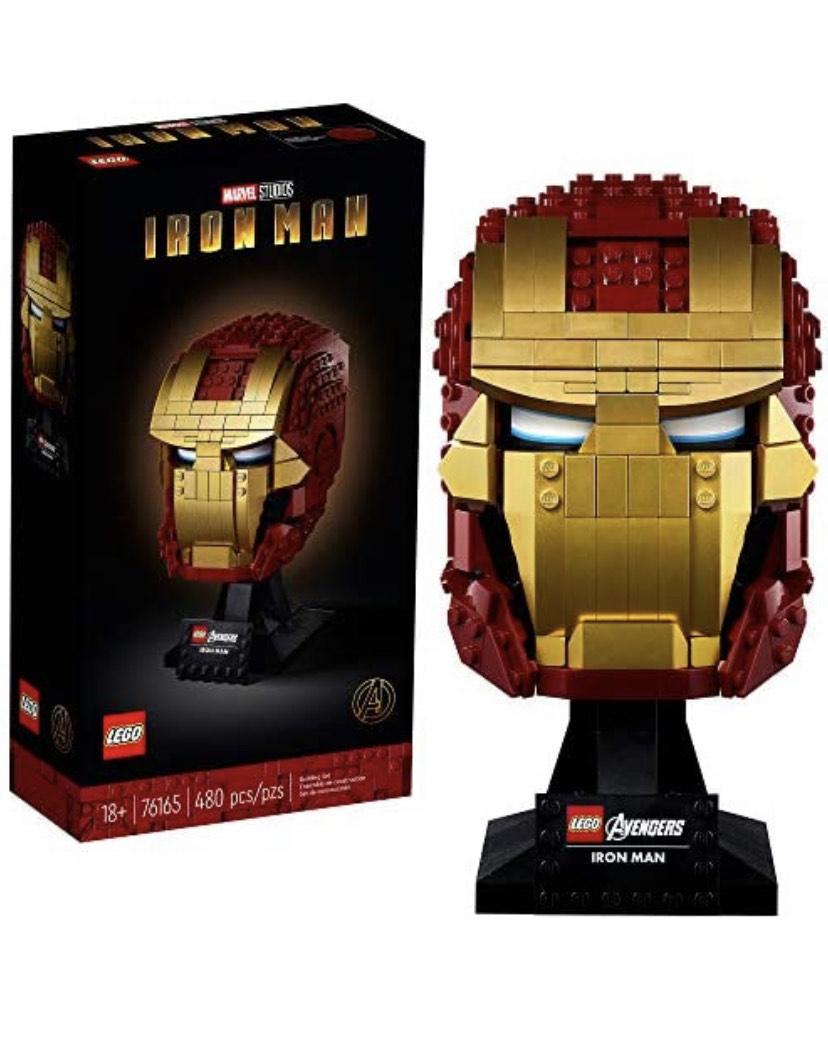 Lego Marvel Iron Man Helmet £34.99 (Prime Exclusive) @ Amazon