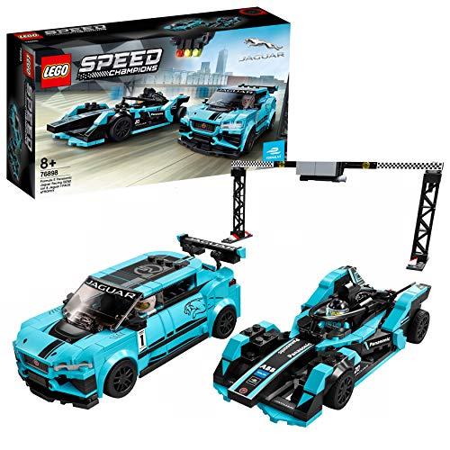 LEGO 76898 Speed Champions Formula E Panasonic Jaguar Racing GEN2 car & Jaguar I-PACE eTROPHY £22.99 (Prime Exclusive) @ Amazon
