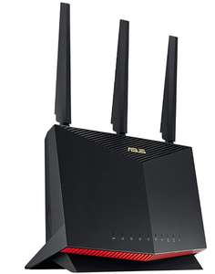 ASUS RT-AX86U 5700 Dual Band + Wi-Fi 6 Gaming Router £183.99 Amazon Prime Exclusive
