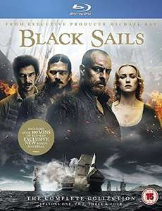 Black Sails: The Complete Collection (Seasons 1-4) [Blu-ray] £19.59 Prime Exclusive