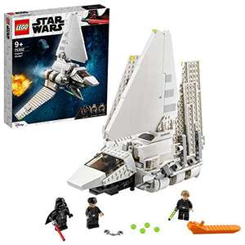 LEGO 75302 Star Wars Imperial Shuttle with Luke Skywalker, Lightsaber and Darth Vader £45.99 delivered (Prime Exclusive) @ Amazon