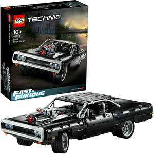 LEGO 42111 Technic Fast & Furious Dom's Dodge Charger Racing Car £51.99 - Prime Members only @ Amazon
