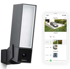 Netatmo Smart Outdoor Security Camera, Floodlight, Movement Detection, Night Vision, No Fees (Presence) £169.98 @ Amazon (Prime exclusive)