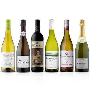 Buy 6 Bottles of Wine / Champagne / Prosecco & Save 25% (Clubcard Price) @ Tesco