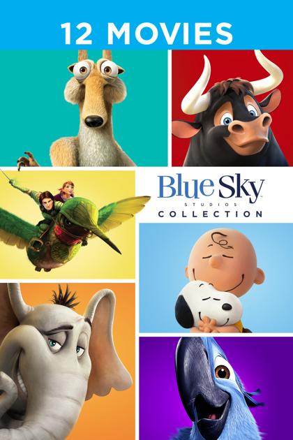 Blue Sky 12 movie bundle £7.99 at iTunes