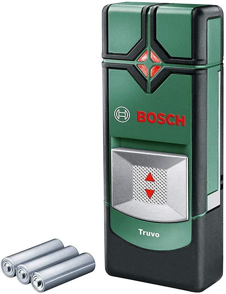 Bosch 0603681200 Detector Truvo (3 x AAA batteries, max. detection depth: 70 mm), Green, 29.0 mm*143.0 £22.20 (Prime Exclusive) @ Amazon