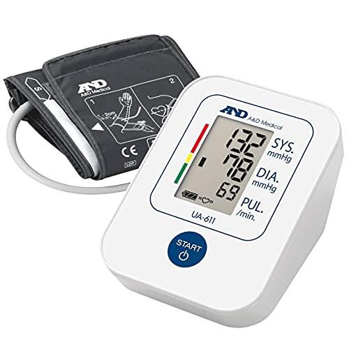 A&D Medical Blood Pressure Monitor Cuff Upper Arm Blood Pressure Machine Home Use UA-611 - £14.99 Prime Exclusive @ Amazon