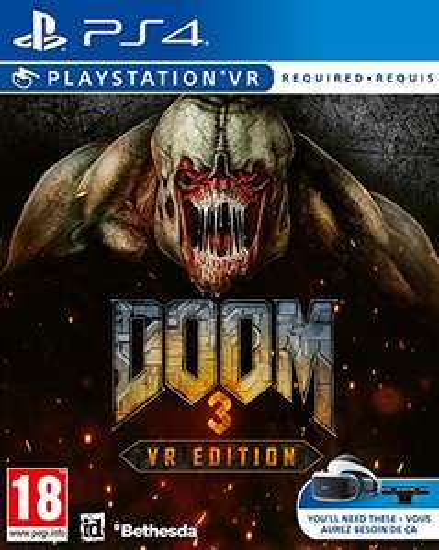 Doom 3 VR (PS4) £11.99 Delivered (Prime Exclusive) @ Amazon