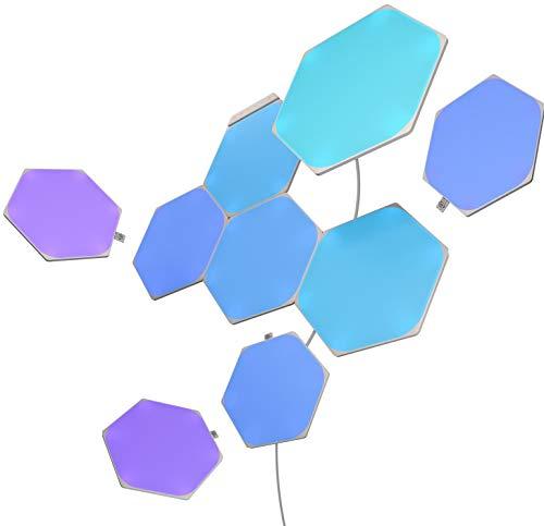 Nanoleaf Shapes Hexagons Starter Kit - 9 Light Panels £134.99 Prime Exclusive at Amazon