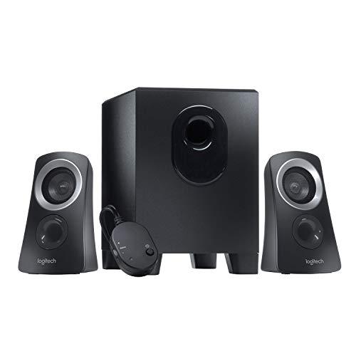 Logitech Z313 2.1 Multimedia Speaker System with Subwoofer Black - £27.90 @ Amazon Prime Exclusive