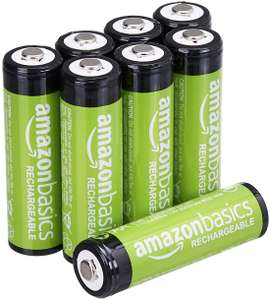 Amazon rechargeable AA batteries £8.99 at Amazon Prime Exclusive