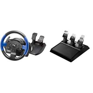 ThrustMaster T150 (PS4/PC) + T3PA 3 Pedal Set £189.99 @ Amazon (Prime Exclusive)