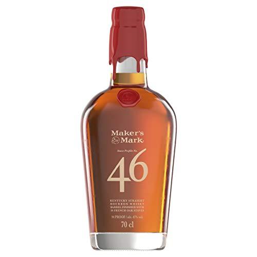 Maker's Mark 46 Kentucky Bourbon Whisky 70cl £28 at Amazon Prime Exclusive