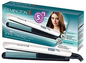 Remington Shine Therapy Advanced Ceramic Hair Straighteners with Morrocan Argan Oil S8500. £20.99 (Prime Exclusive) @ Amazon