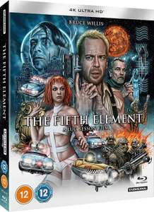 The Fifth Element 4K [Blu-ray] [2020] £14.99 @ Amazon prime exclusive