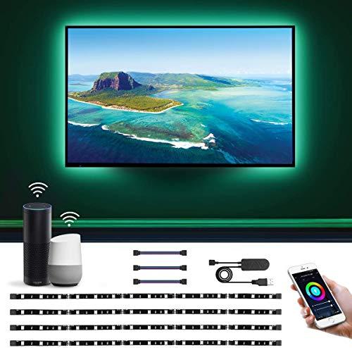 LE Led strip lights for TV, voice control Alexa/Google £12.79 Amazon Prime Exclusive