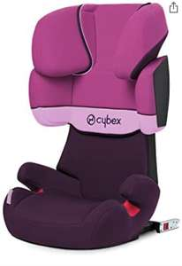 Cybex Silver Solution X-Fix Child's Car Seat, High Back Booster, For Cars with/ without ISOFIX, Group 2/3 £40.99 Amazon Prime Exclusive