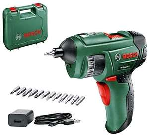 BOSCHBosch PSR Select Cordless Screwdriver with Integrated 3.6 V Lithium-Ion Battery - £31.50 (Prime Exclusive) @ Amazon