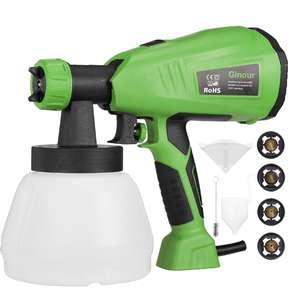 Ginour Fence Paint Sprayer with 3 Painting Modes £21.99 (Prime Exclusive) @ Amazon