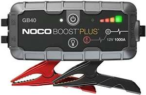 NOCO Boost Plus GB40 1000 Amp 12-Volt UltraSafe Portable Lithium Jump Starter, Car Battery Booster Pack - £66.49 Amazon Prime Exclusive