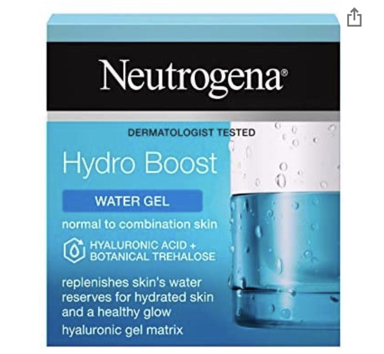 Neutrogena Hydro Boost Water Gel Moisturiser with Hyaluronic Acid & Trehalose £6.50 (Prime Exclusive) @ Amazon