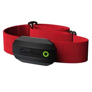 CooSpo Heart Rate Monitor Bluetooth ANT+ with Chest Strap RED £19.99 Blue £20.79 (Prime Exclusive) @ Amazon