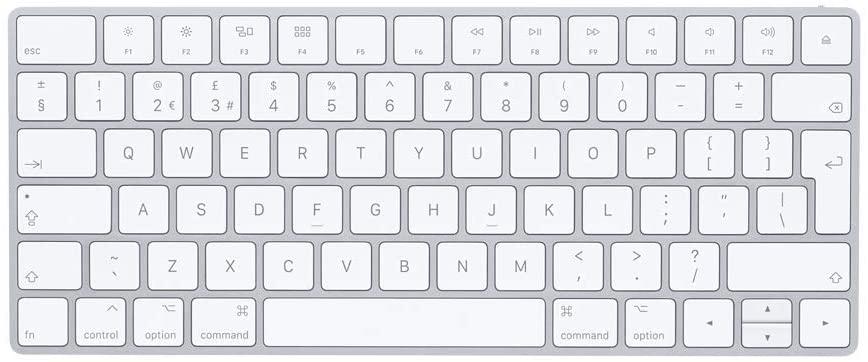 Apple Magic Keyboard (Wireless, Rechargeable) - British English - £49 Amazon Prime Exclusive