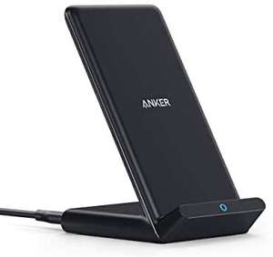 Anker Wireless Charger, PowerWave Stand, Qi-Certified - £13.99 Prime Sold by AnkerDirect and Fulfilled by Amazon Prime Exclusive
