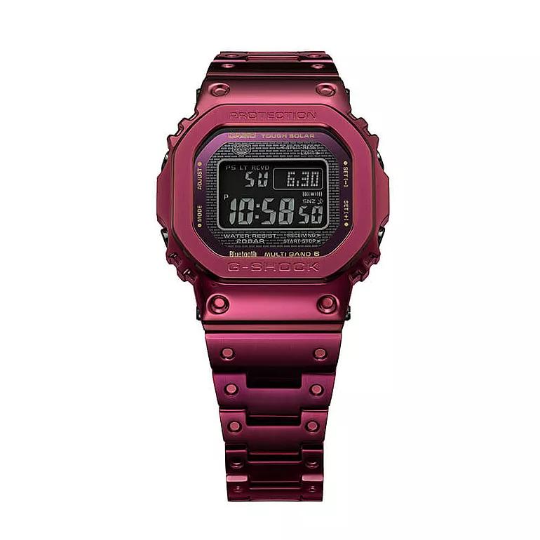 Casio G-Shock Full Metal Men's Red IP Bracelet Watch £279 with code at Ernest Jones